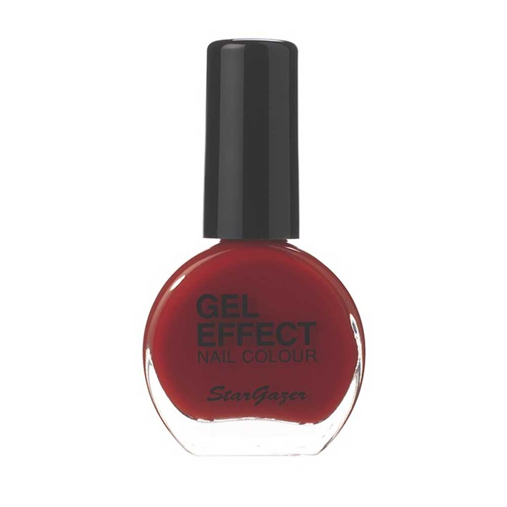 Gel Effect Deep nail polish red - Starga