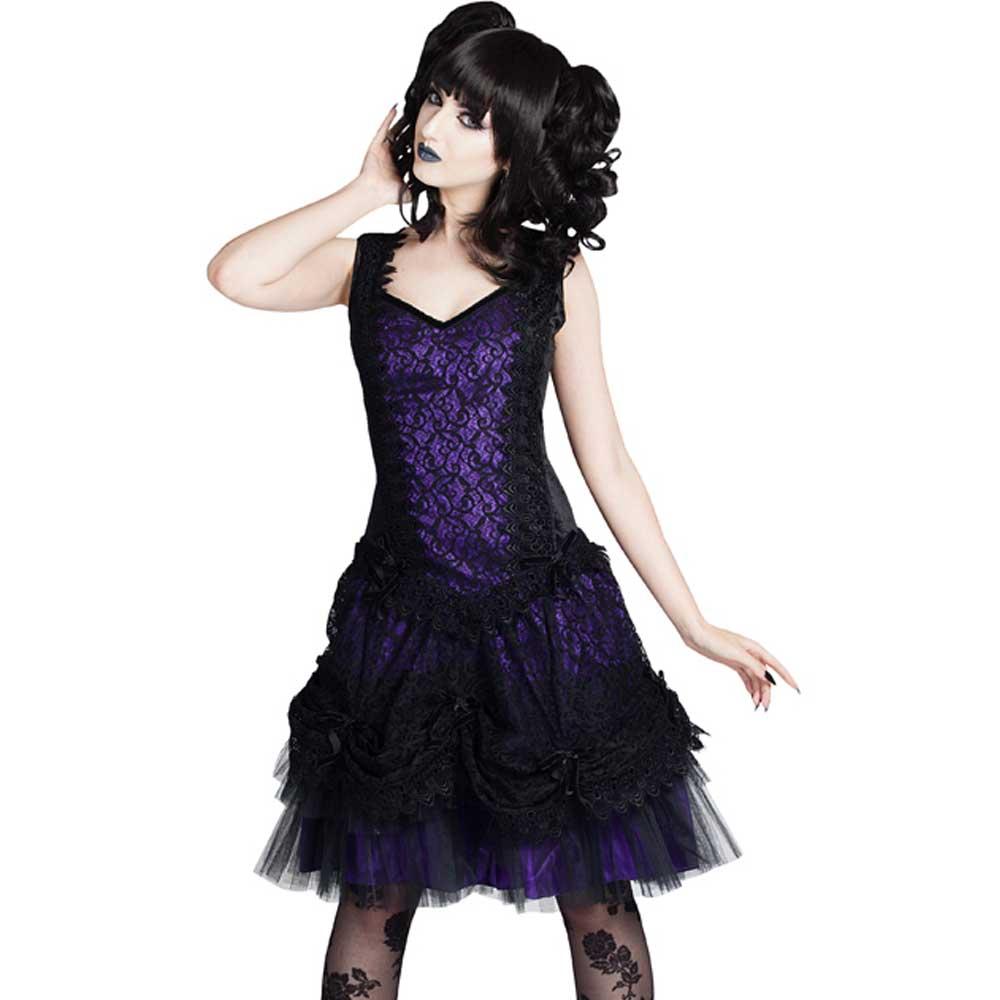 Cathern lolita mini jurk met sweetheart