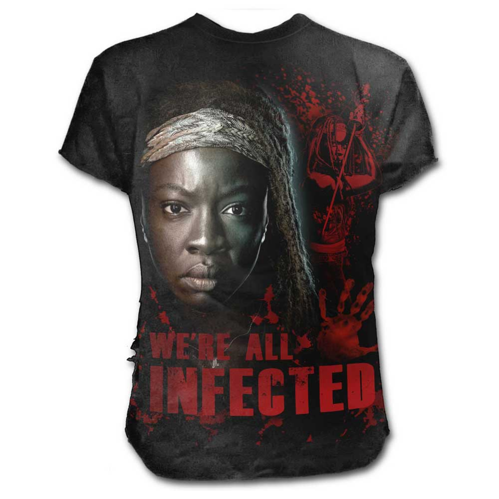 The Walking Dead - Michonne All infected