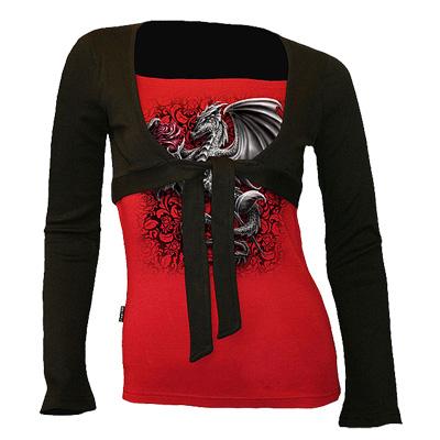 Dragon Rose, gothic fantasy metal draken