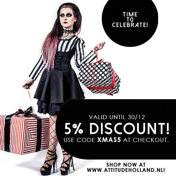 af1b95973dd0e6 Attitude Holland  online shop voor gothic kleding en véél meer